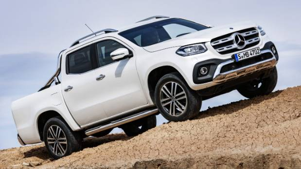 X-class is Mercedes-Benz's first proper one-tonne ute. This is the
