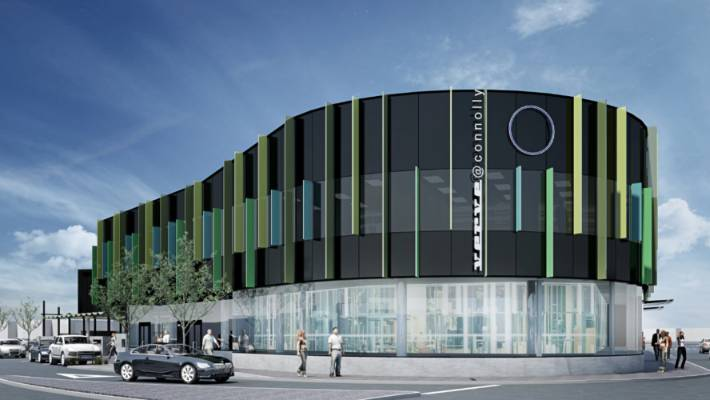 An artist's impression of what the birthing centre in Melling will look like.