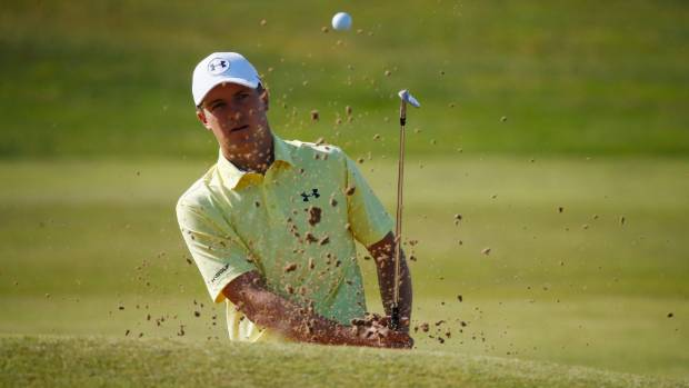 Royal Birkdale: American trio share the lead after dramatic first day