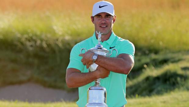 Brooks Koepka blew away the field to claim last month's US Open at Erin Hills