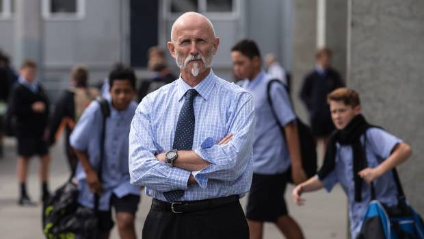"""Shirley Boys High Principal John Laurenson is not interested in changing his school into a """"glorified polytech"""" where students rarely go outside. (File photo)"""