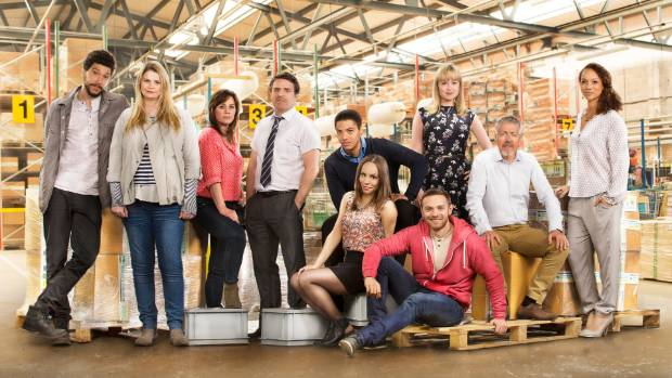 The cast of the second season of Ordinary Lies which is set in a sports sales company.