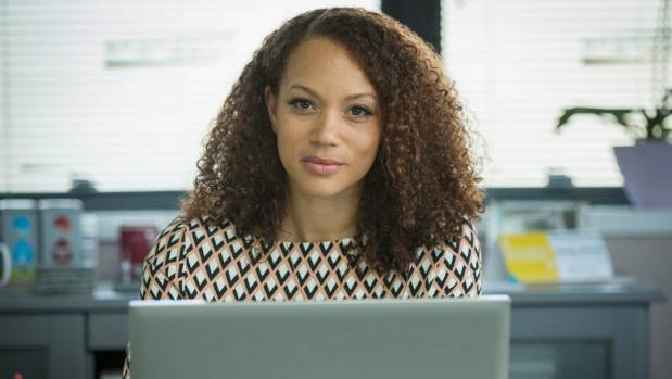Angela Griffin plays the seemingly-perfect Jenna in Ordinary Lies.