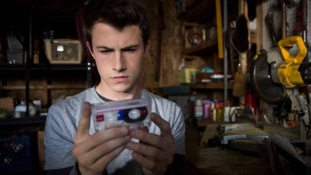 Dylan Minnette stars in Netflix's controversial and very popular show 13 Reasons Why