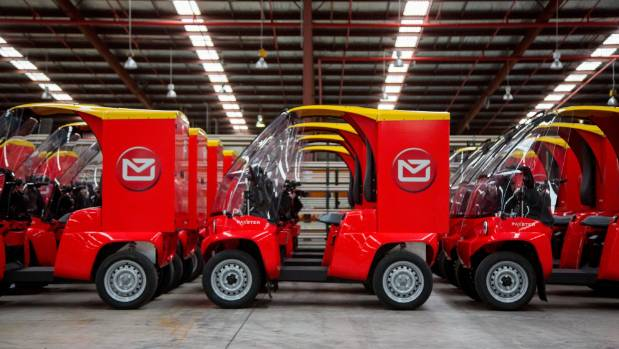 The new postie vehicles are similar to mobility vehicles, but are larger and more maneuverable.