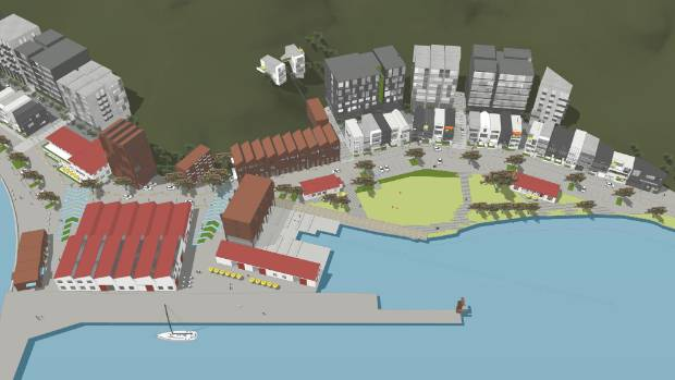The Shelly Bay development will include 350 new properties made up of a 140-resident rest home, a boutique hotel, 280 ...