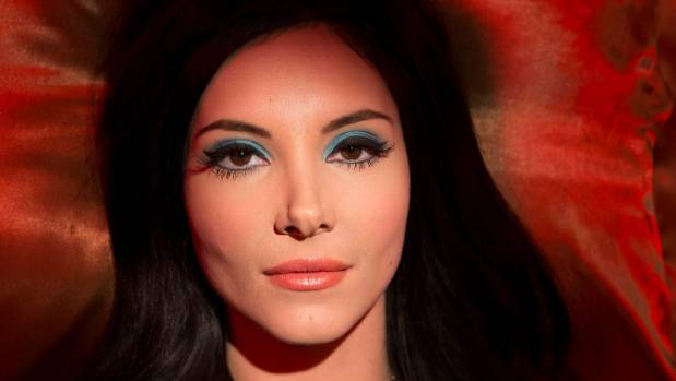 "Samantha Robinson's ""cinematic qualities"" were what persuaded Anna Biller to cast her as The Love Witch."