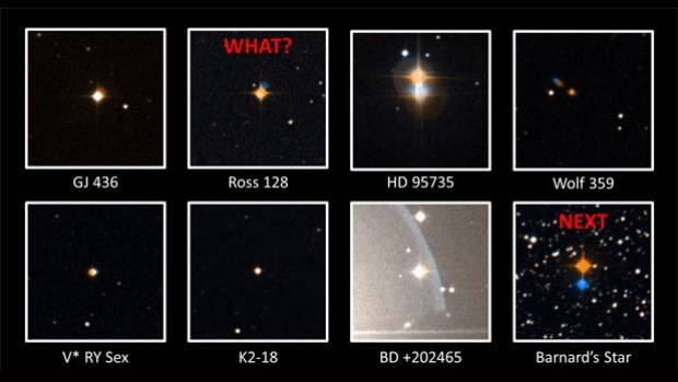 Odd radio signals coming from nearby dwarf star