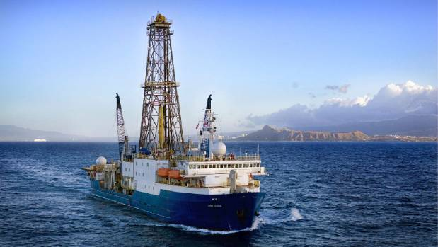 International research drilling ship Joides Resolution has just finished a nine-week expedition to study Zealandia.