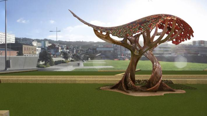image relating to Weta Uk Printable Schedule named Fresh new Weta sculpture gets severe phrases towards NZ artist Dick