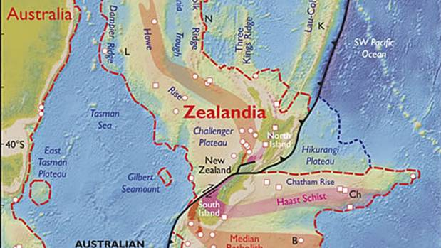 Researchers believe Zealandia was not always as deep under the sea as it is now.