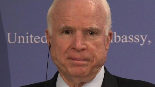 McCain Treated for Intestinal Infection