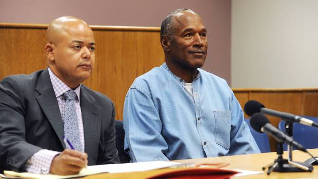 After nine years in prison, OJ Simpson out on parole
