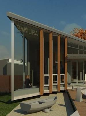 An artist's impression of the Rakiura Heritage Centre. The centre has received, over $1 million in Government funding to ...
