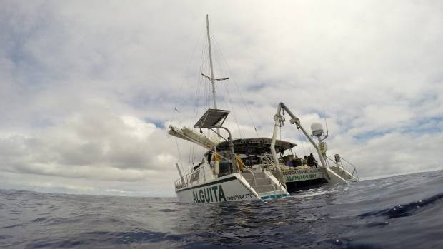 Beginning in November last year, Moore and his team completed the voyage a week ago, docking in California.