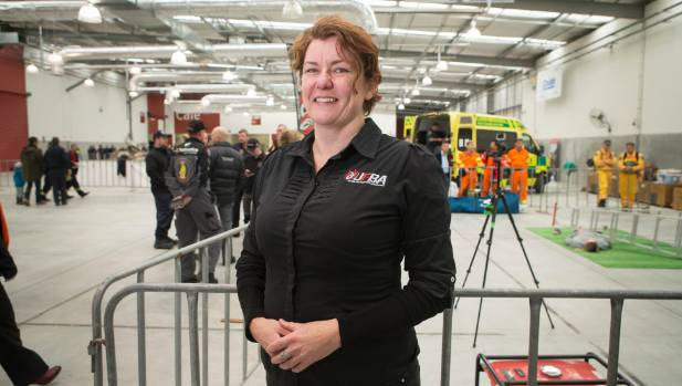 Ceara Owen-Perry, United Fire Brigades' Association general manager, says the event provides an unique training ...