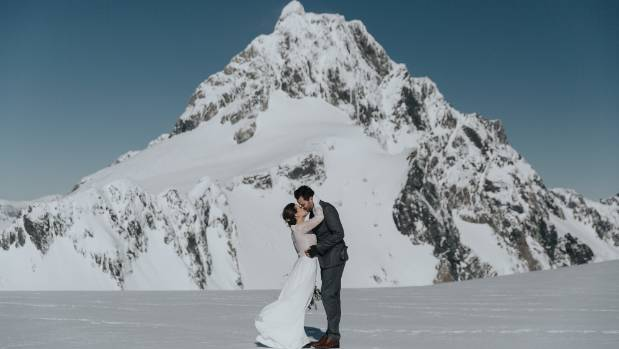 Whats on trend for winter weddings in new zealand stuff people want the romance of the snow for their photos then somewhere warm and cosy with junglespirit Choice Image