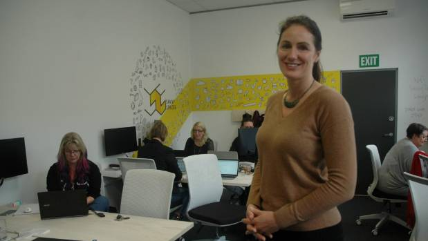 "Natalie Sisson and Coworking Upper Hutt's early steps:  ""This reduces the burdens of long commutes, increases ..."