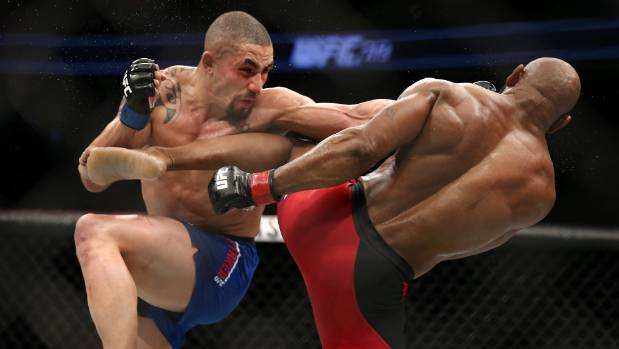 Whittaker withdraws from Perth's UFC 221