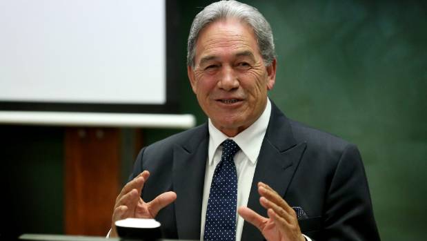 Immigration is a major issue for NZ First Leader Winston Peters.