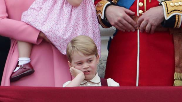 Prince George celebrates his fourth birthday with official portrait