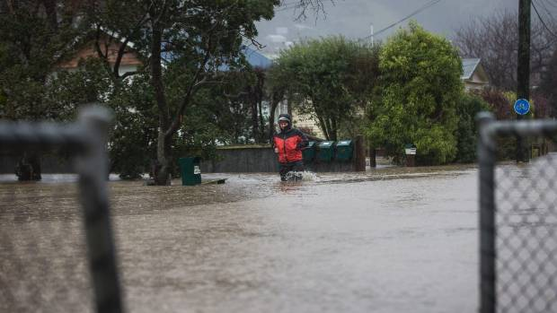 The state of emergency has been declared in Christchurch after the Heathcote River burst its banks.