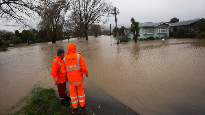 Photos: State of emergency declared as Christchurch floods