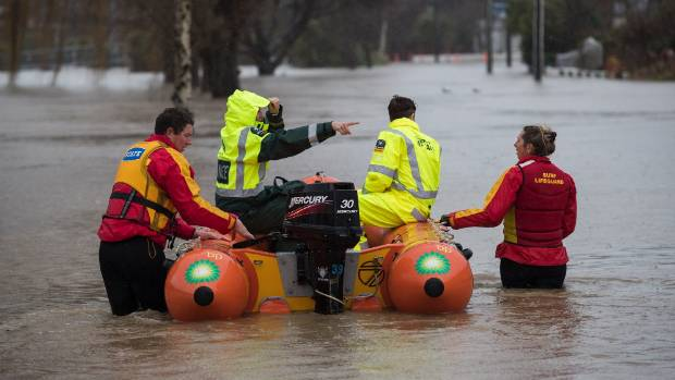 Severe storms lash New Zealand's South Island