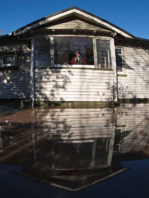 Deborah Buchanan was evacuated from her Clarendon Tce home on Saturday. When she returned the next day, her house was ...