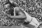 US sprinter Jesse Owens won gold in the men's 100m at the 1936 Berlin Olympics.