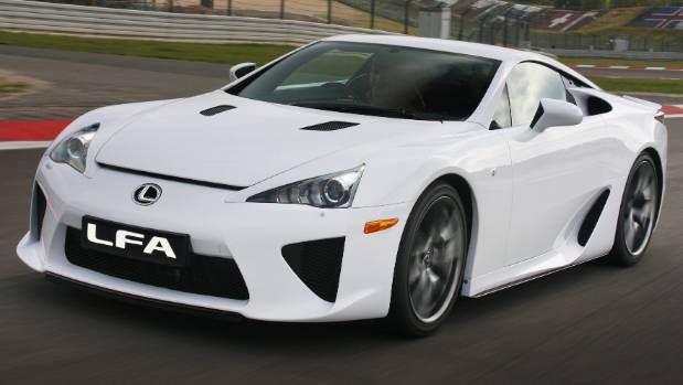 Lexus went straight from luxury sedans to one of the world's finest supercars with the LFA.