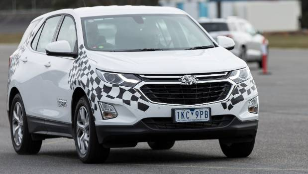 Equinox is Holden's replacement for the Captiva. It was revealed earlier this year... so you can ditch the camo, guys.