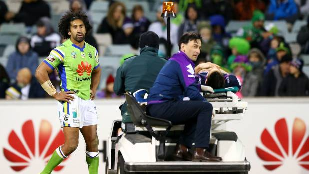 Soliola receives 5 match ban for high shot on Slater
