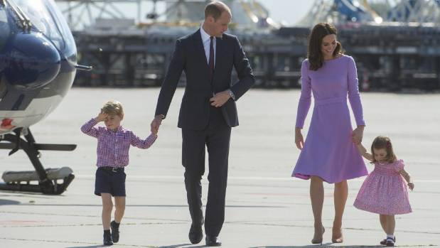Sickness may prevent Duchess of Cambridge taking George to school