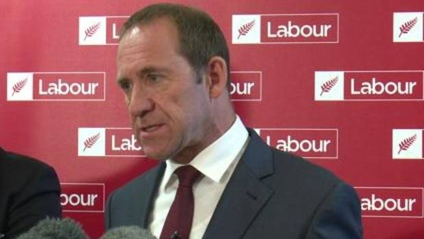 Andrew Little says he has talked to his colleagues about stepping down.