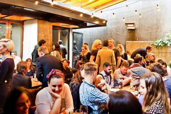 Its outdoor dining is hugely popular with punters.