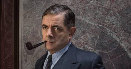 Rowan Atkinson as the French detective Jules Maigret.