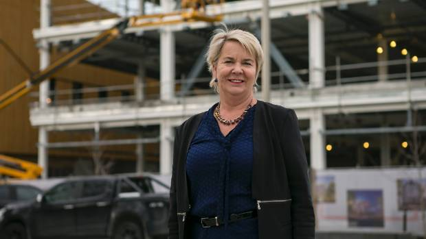 Three more years: MP Nicky Wagner again fighting the critical swing seat of Christchurch Central for National.