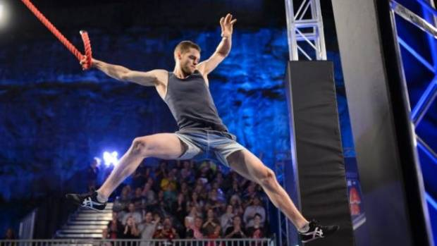 Lighter competitors, like rock climber Tom O'Halloran, tend to perform better.