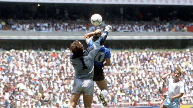 Diego Maradona Backs Use of VAR to Prevent Another 'Hand of God'