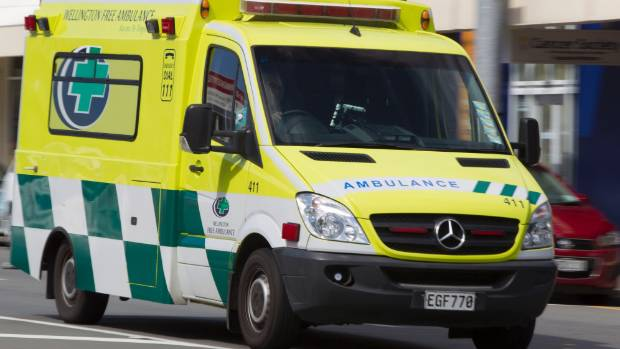 A man who sustained moderate injuries at a Lower Hutt address has been taken to Hutt Hospital.
