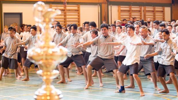 Over 500 students performed a heartfelt haka to Dalton.