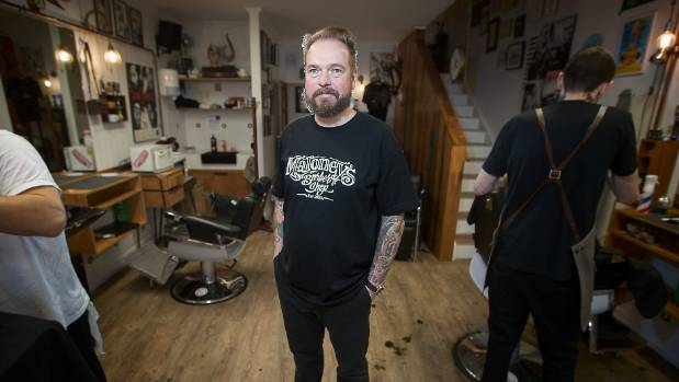 Maloney's Barber Shop owner Julian Maloney says the barbering boom is driven by people wanting to go to, and be, barbers.