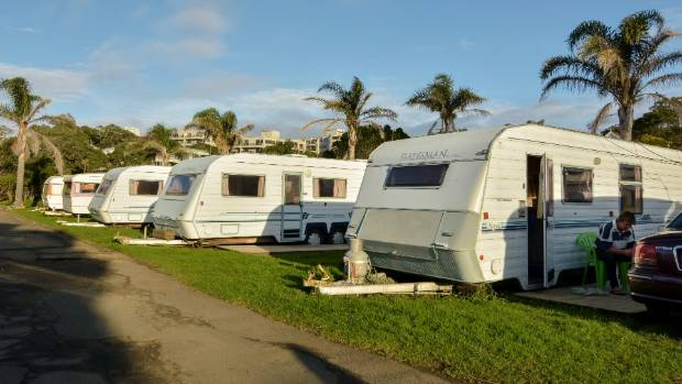 The commissioner has recommended moving the caravans off of the Takapuna campground site.