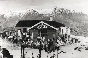 Happy Valley Chalet in 1953.