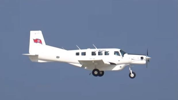 A New Zealand-made Pacific Aerospace P-750 XSTOL was spotted at North Korea's first airshow in October 2016.