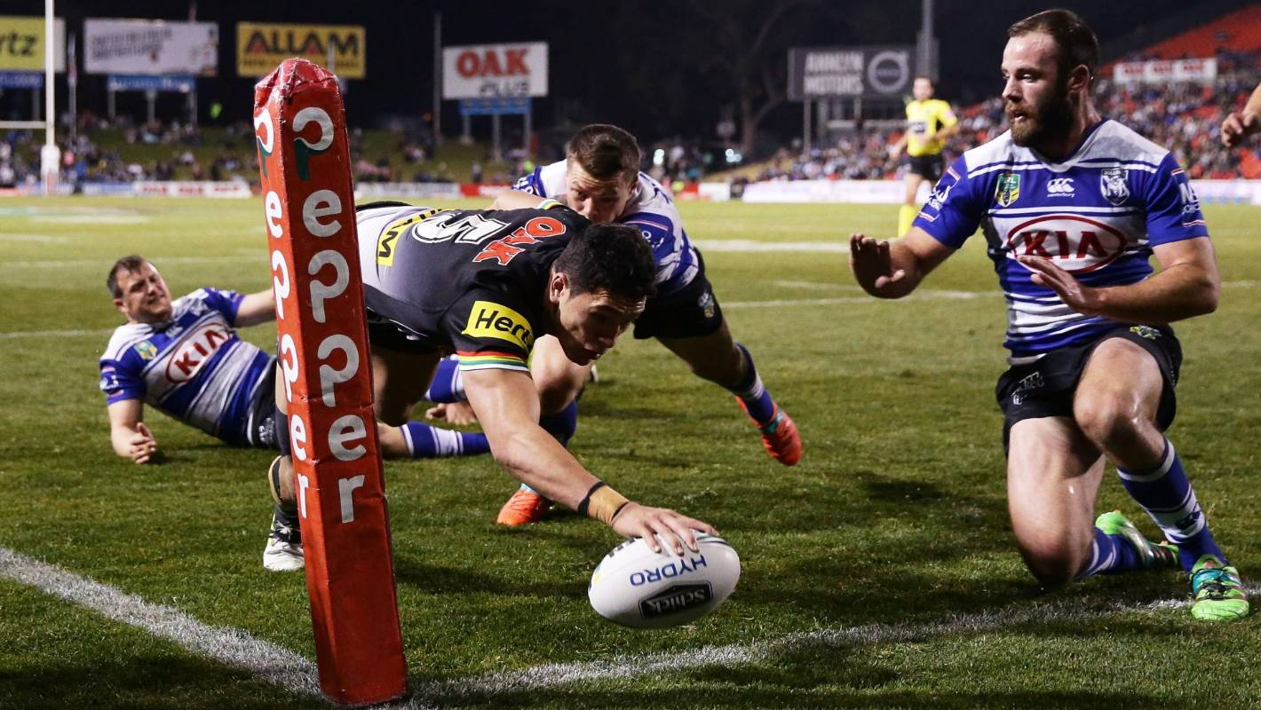 penrith panthers defeat canterbury bulldogs late stay. Black Bedroom Furniture Sets. Home Design Ideas