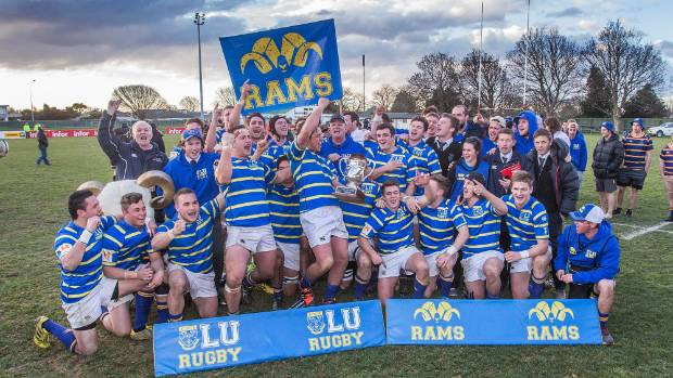 Lincoln University, which offers rugby scholarships, has won the Canterbury Metro competition for the last two years and ...