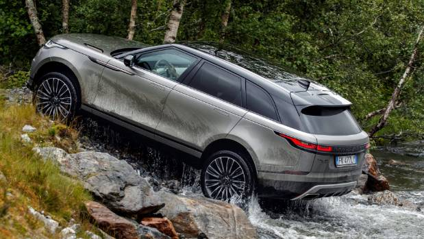 Jaguar F-Pace platform, but Velar has a lot more off-road tech, better ground clearance and superior wading depth.