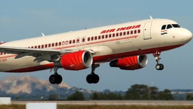 Air India flight attendant falls off plane at Mumbai airport